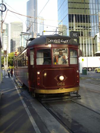 tram picture of the colonial tramcar restaurant. Black Bedroom Furniture Sets. Home Design Ideas
