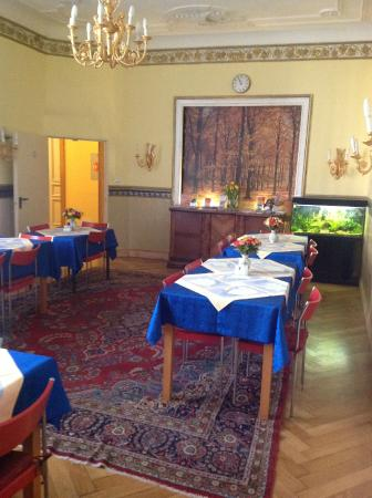 Hotel Gunia : Комната для завтраков