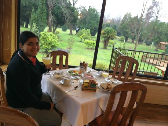 Hotel Pucon Green Park: comedor