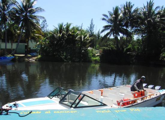 Varadero, Kuba: Schnellboot