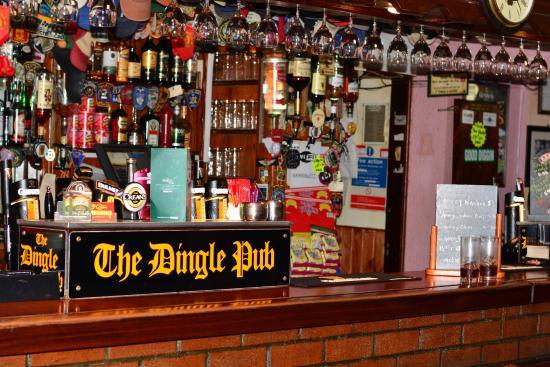 Dingle Pub: Wohlfühltheke