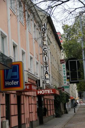 Novum Hotel Cristall Wien Messe: facade