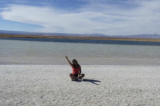 Atacama-Wüste: Laguna Cesar
