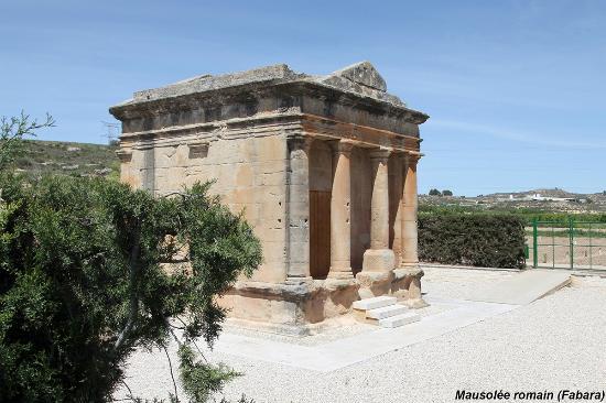 Fabara, Spain: Mausolée romain