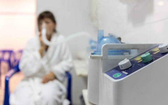 Balneario de Villavieja: Tratamientos respiratorios