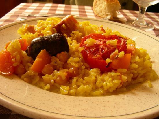 Balneario de Villavieja: Dieta mediterranea