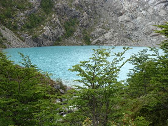 Glaciar Huemul: Laguna Huemul!!
