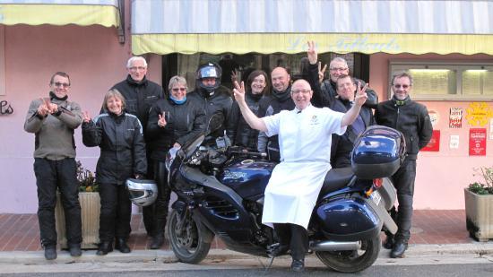 Restaurant Auberge les Tilleuls : La bonne humeur au RDV