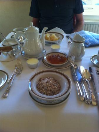 The Mount Hotel: Breakfast (first course)