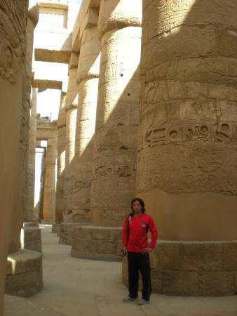 Temple of Amun : Sala hipóstila del Templo de Amon en Karnak
