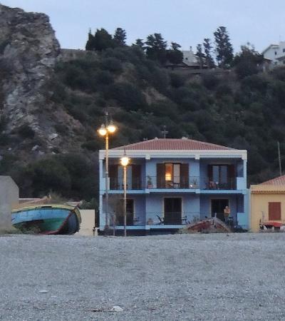 Albergo Esperia: View from the beach