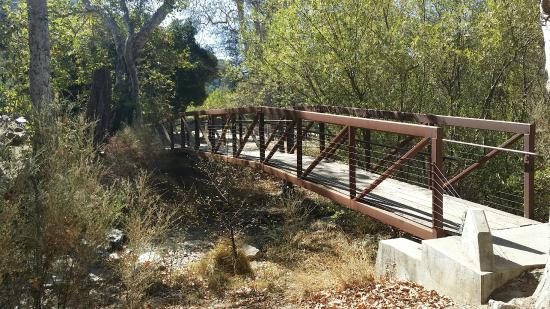 San Luis Obispo, CA: Wonderful Bridge from Cal Poly Engineering given to park