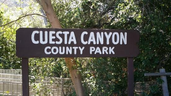 Cuesta Canyon County Park