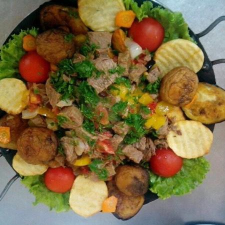 Zolotoy orel: садж из телятины