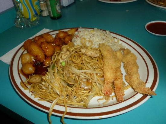 Ichiban Restaurant: A Chinese Combo Plate