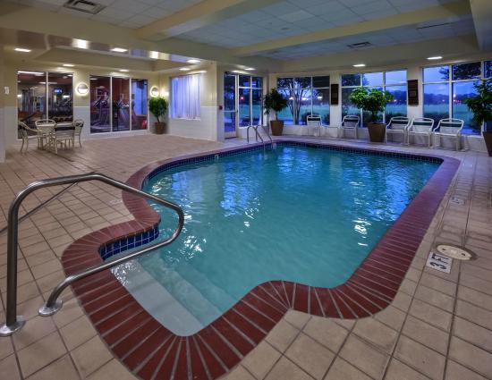 Hilton Garden Inn Lafayette/Cajundome: Indoor Pool