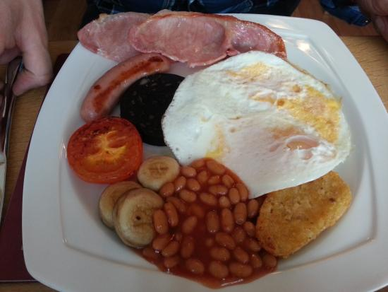 The Address: The hubby's fabby breakfast....