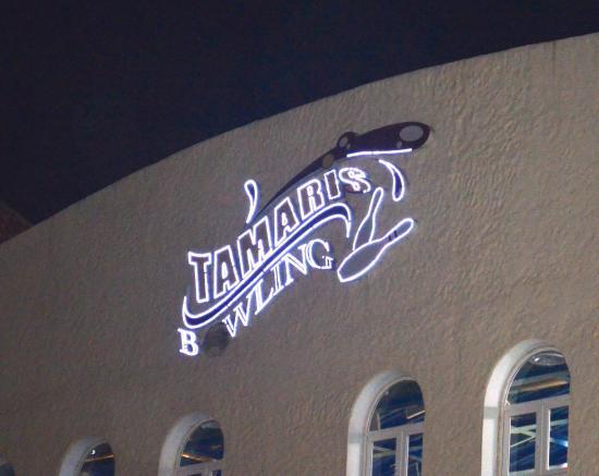 Tamaris Aquaparc : Bowling dans l'aquapark