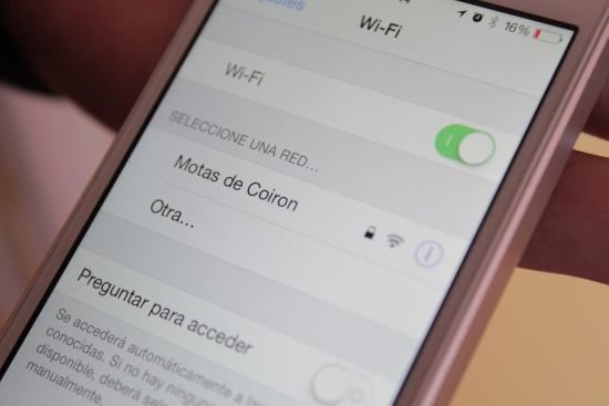 Hostel Motas de Coiron: conexión wi fi