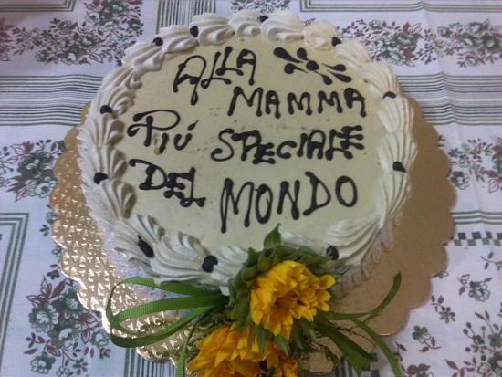 Favoloso torta compleanno mamma - Foto di Bar Pasticceria Santo Musumeci  OY46