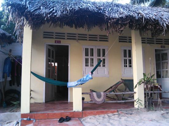 Viet Thanh Resort: Вид на мой домик