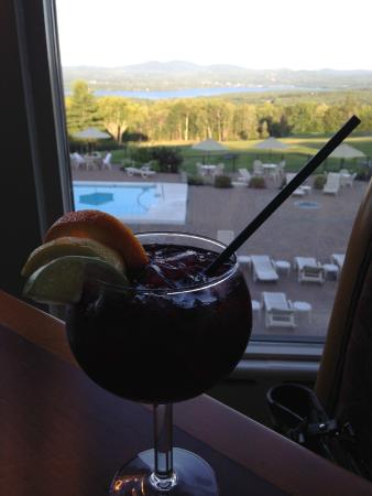 The Hilltop Restaurant: Sangria at the Hilltop