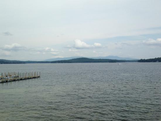 Lake Winnipesaukee: Mountain view from Weir's Beach