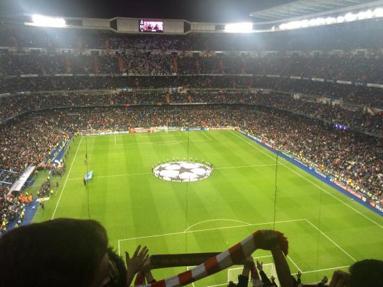 Stadio Santiago Bernabeu   Champions League v Liverpool.. Stadio Santiago  Bernabeu   . REAL MADRID 3 - Barca 1 El mejor estadio del mundo para ... cb40b5d7f3e60