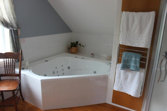 Cobden Garden Homestay: Spa in room