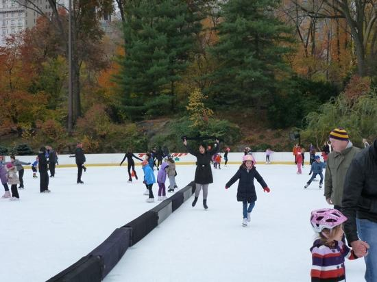 Trump Rink in Central Park: such fun