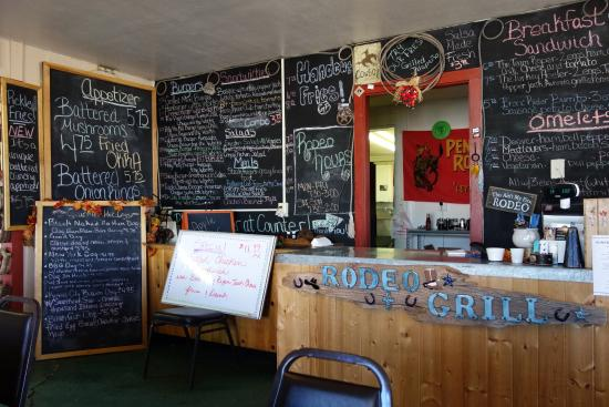 Rodeo Grill: Menu is all around you