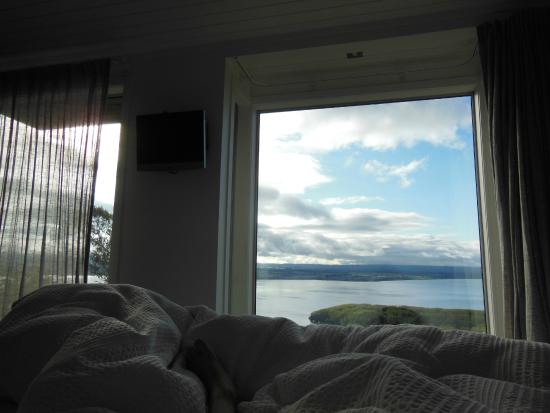 Acacia Cliffs Lodge: View in the morning.