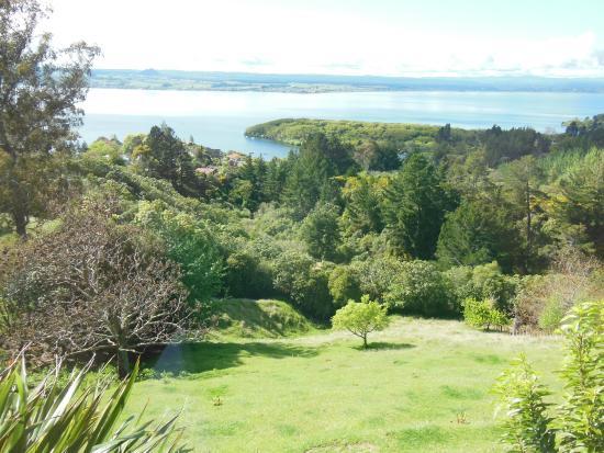 Acacia Cliffs Lodge: Their backyard!