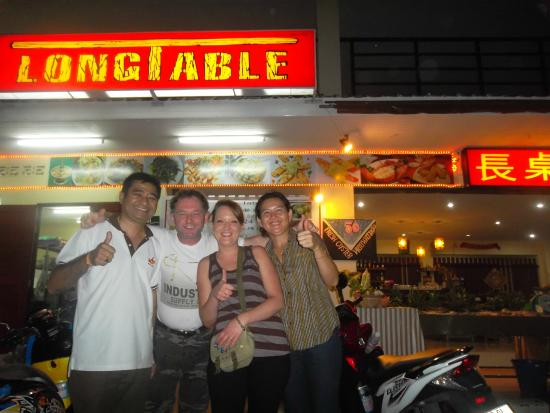Long Table Restaurant: long table