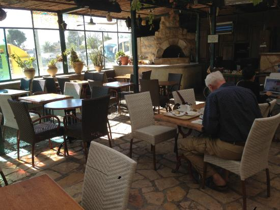 Jerusalem Hotel: Fabulous dining patio - or just to sit!