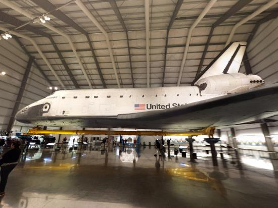 space shuttle endeavour california science center - photo #37