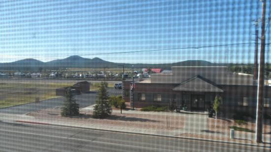 Motel 6 Williams East - Grand Canyon: Vista da janela