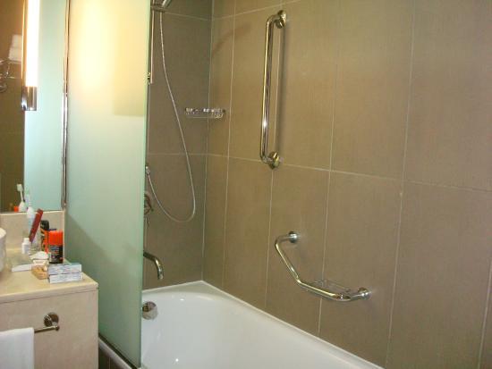 Holiday Inn Abu Dhabi : Shower