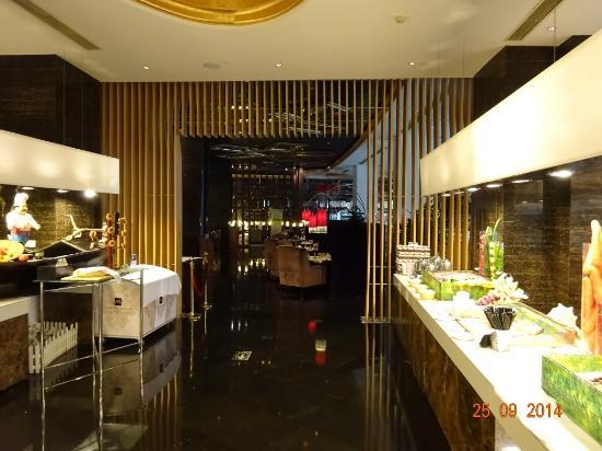 Grand Metropark Hotel Suzhou: breakfast area