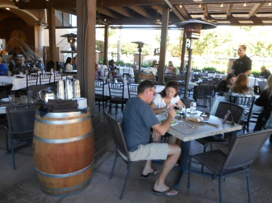 The Creekside Grille: Outdoors