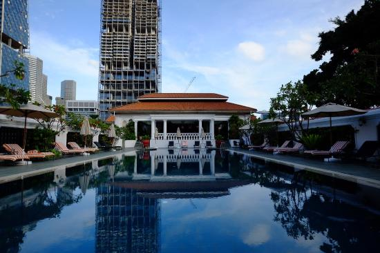 The Pool Picture Of Raffles Hotel Singapore Singapore Tripadvisor