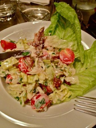 Zinc Zinc: Salade Caesar avec du persil ! On aura tout vu.