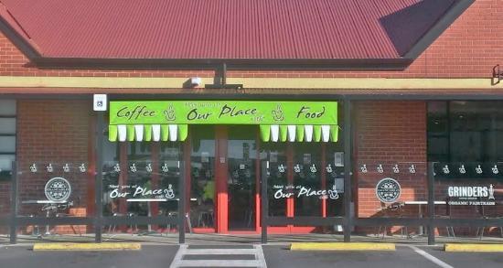Our Place Kitchen: Shop Frontage