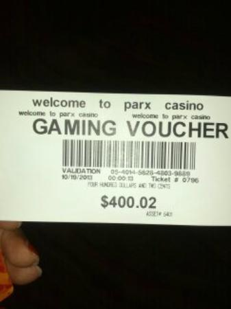 Parx Casino: This is what I won in a matter of minutes