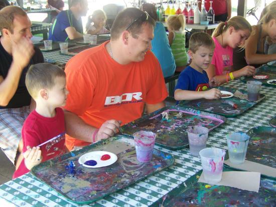 Splash Magic Campground: Ceramics