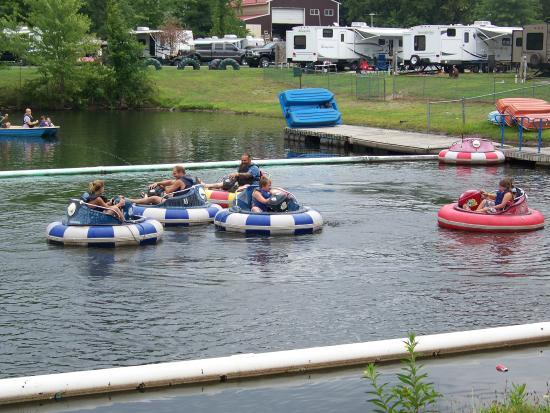 Northumberland, Pensilvania: Bumper boats