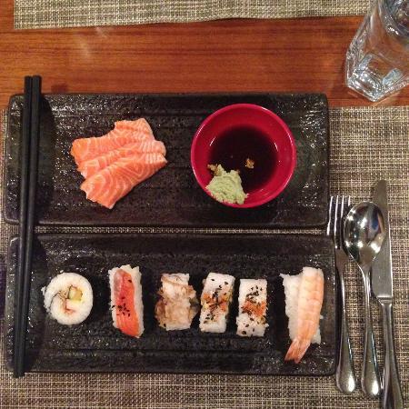 Harbour Cafe: Fresh Sashimi!!!