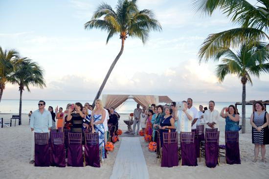 The Fives Azul Beach Resort Playa Del Carmen Wedding Ceremony On