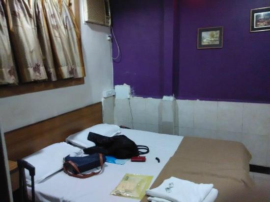 "Hotel Highway Residency: The ""standard room"" initially allotted"
