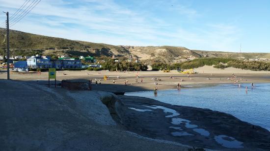 Posada Caracoles: Aprovechando el buen tiempo! ! Playa y caminata!!